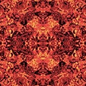 fiery pattern