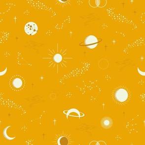 Sky Constellation Gold by Deinki