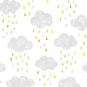 Colorful Rain - small scale