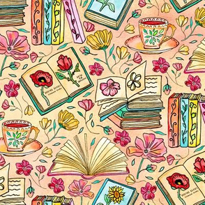 Blooms and Books - Small