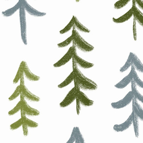 Pine trees - Large Scale