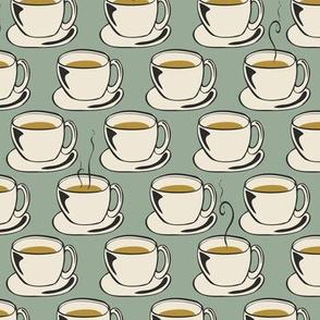 Coffee Cups - Sage - Small