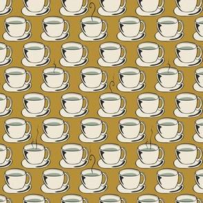 Coffee Cups - Tan - Mini