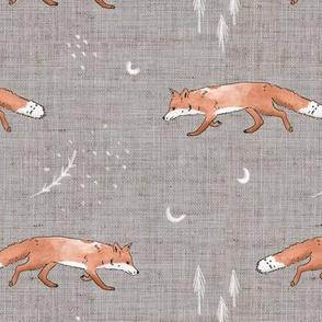 Fox Tales Grey
