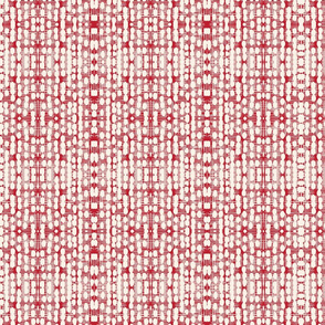 Batik red stripe