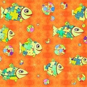 fishy bubbles