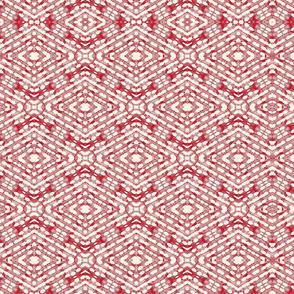Batik Aztec Red