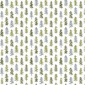Pine trees - Mini scale