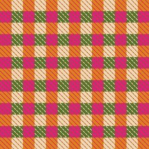 Classic tartan blue