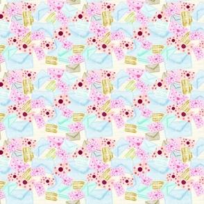 snail mail vintage quilt -   wholecloth LG 14