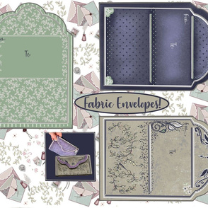 Vintage Look Envelopes  3 Cut and Sew