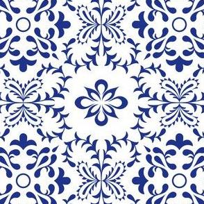 Monochrome Azulejo Tile