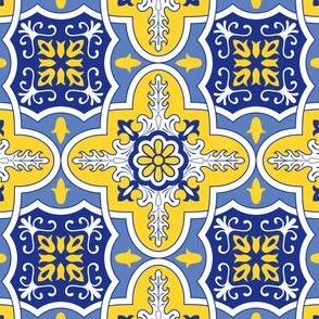 Bright Portuguese Tile