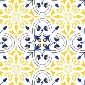 Delicate Portuguese Tile
