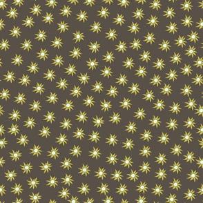 Flannel flower ditsy pattern