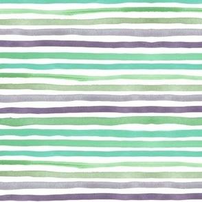 """Stripes 1 (12"""") - aquamarine"""