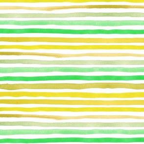 "Stripes 1 (12"") - lemon"