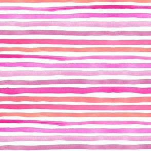 "Stripes 1 (12"") - pink"