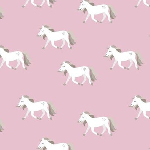 Hold your horses little wild horse western ranch cowboy theme kids copper white pink girls