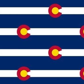 Colorado Flag - Regular Scale