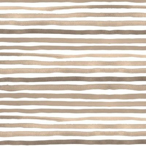 """Stripes 1 (12"""") - taupe brown"""