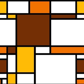 Mondrian // Retro 70s