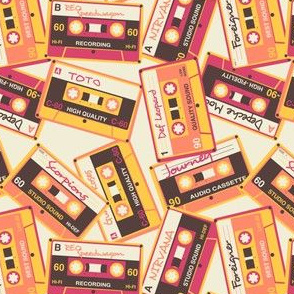 Retro Cassette Tapes