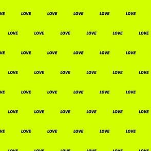 Fluo Love Yellow