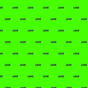 Fluo Love Green