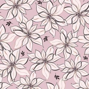 Poinsettia Floral