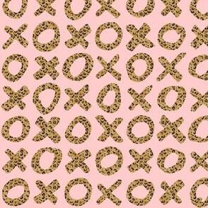 XO cheetah blush Valentine's Day
