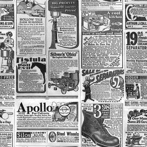 1920s Newspaper Advertisements
