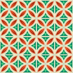 Christmas Tropical Tiles