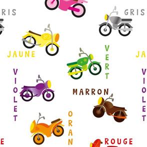 moto couleur