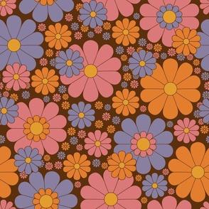 Daisy Dreams in Brown