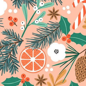 Christmas Joy Orange LARGE