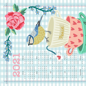 Kalender 2021 Birdy (german)