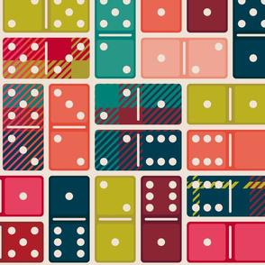 Playing Plaid Dominos