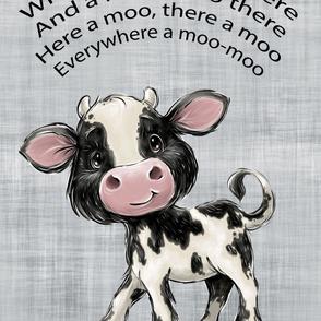 26x36 cow blanket