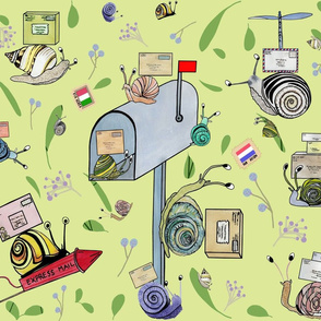 whimsical snail mail
