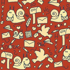 Snail Mail Doodles
