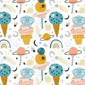 Sweet ice cream planets