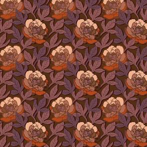 HERMINE brown orange