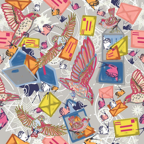 sparrows snail mail gray