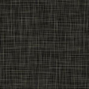 Linen - Black Shadow, Warm Grey Linen