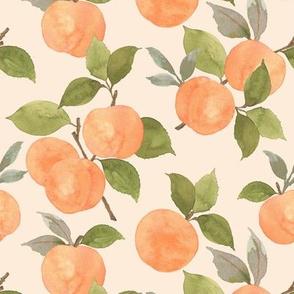 Peaches on peach