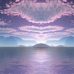 Sci Fi Landscape Crescent Bay Small © Gingezel™ 2012