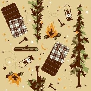 Camping Tan