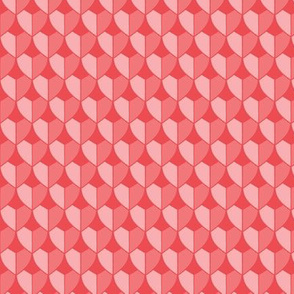 DRAGON SCALES VERTICAL powdery pinks
