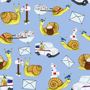 Snail Mail Large Print